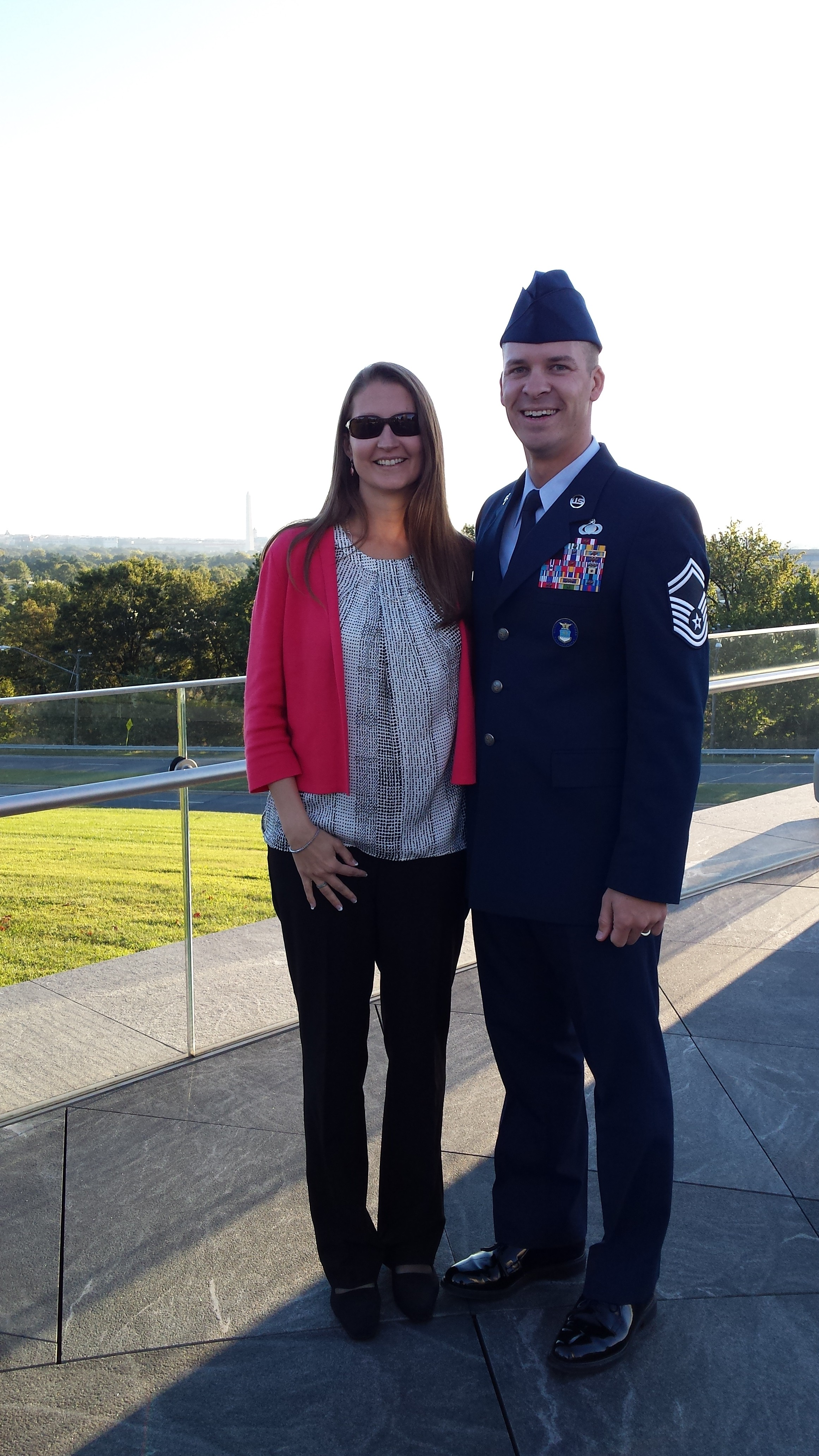 September, 2014 - Air Force Memorial, Washington, DC