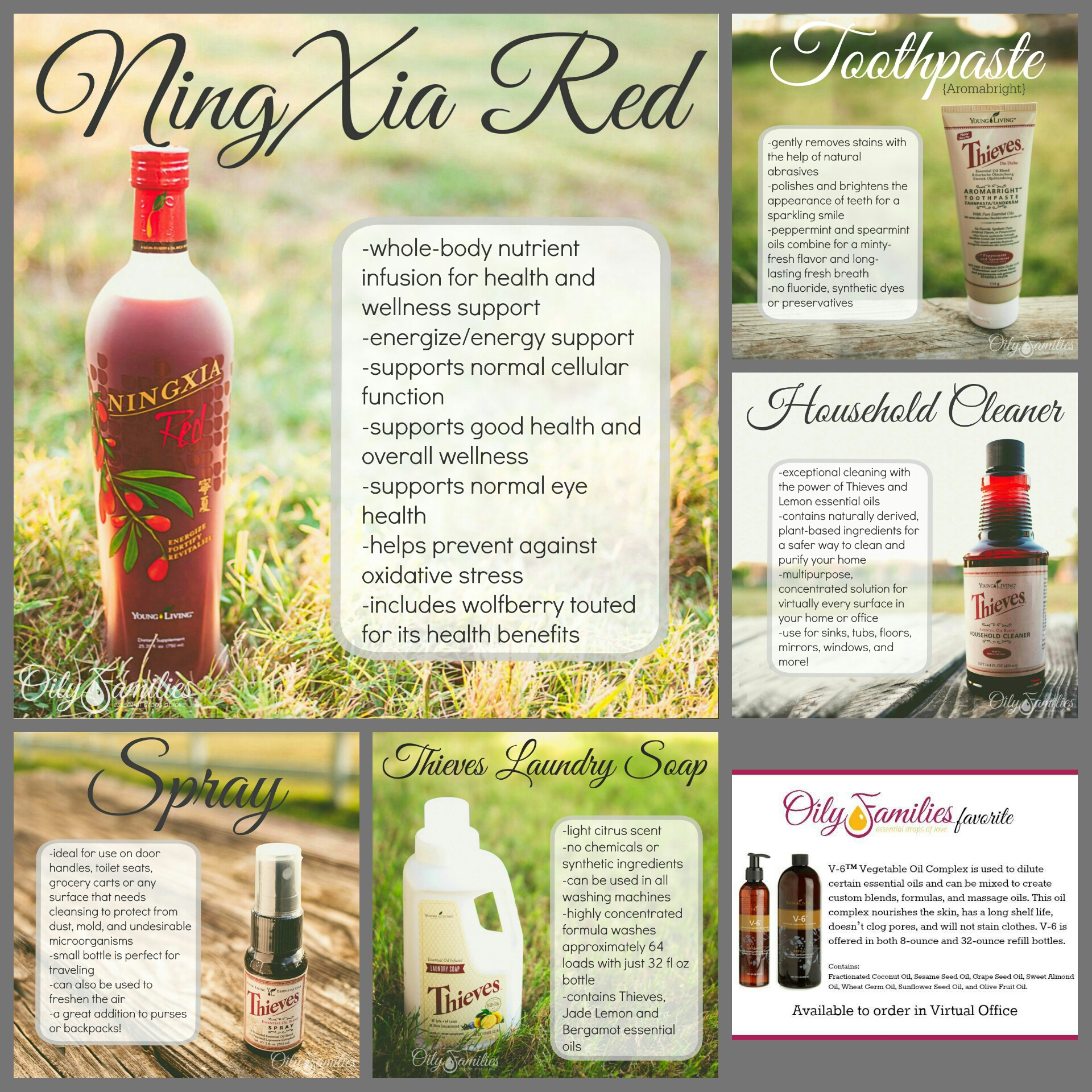 Favorite Young Living products